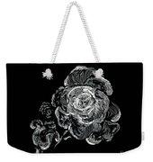 Scratched Rose Weekender Tote Bag