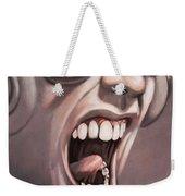 Screamer Weekender Tote Bag by Gillian Singleton