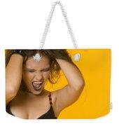 Screaming Girl Weekender Tote Bag