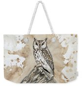 Screech Owl Weekender Tote Bag