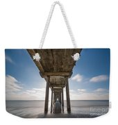 Scripps Pier Long Exposure Weekender Tote Bag