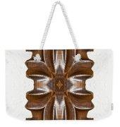 Sculpted Mandala Yantra Weekender Tote Bag