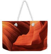 Sculpted Sandstone Upper Antelope Slot Canyon Arizona Weekender Tote Bag
