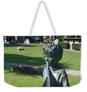 Sculpture - Boy With Sailboat Weekender Tote Bag