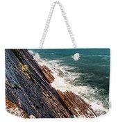 Sea And Cliff Weekender Tote Bag