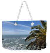 Sea And Palm Tree Weekender Tote Bag