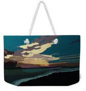 Sea And Sky In Colour Weekender Tote Bag