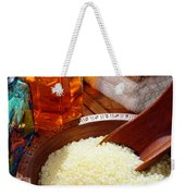 Sea Bath Salts Weekender Tote Bag