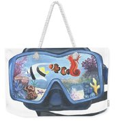 Sea Beneath The Surface Weekender Tote Bag