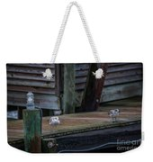 Sea Birds Dockside Weekender Tote Bag