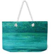 Sea Blue Weekender Tote Bag
