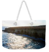 Sea Caves Weekender Tote Bag