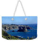 Sea Coast Of Northern California Weekender Tote Bag