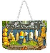 Sea Food Weekender Tote Bag