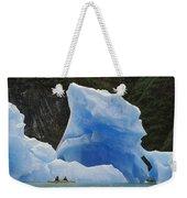 Sea Kayaking With Icebergs Tracy Arm Weekender Tote Bag