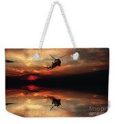Sea King Sunset  Weekender Tote Bag