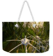 Sea Lily Weekender Tote Bag