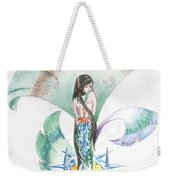 Sea Maiden Weekender Tote Bag