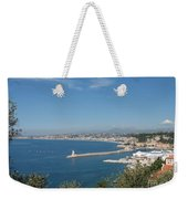 Sea Mole With Lighthouse Weekender Tote Bag