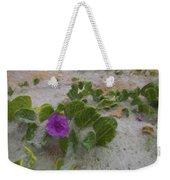 Sea Oat Purple Weekender Tote Bag