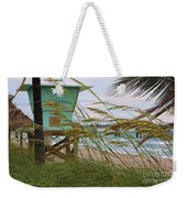 Sea Oats And The Tower Weekender Tote Bag