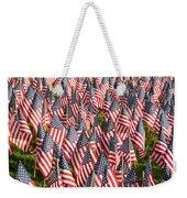 Sea Of Flags Weekender Tote Bag