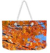 Sea Of Orange And Blue Weekender Tote Bag