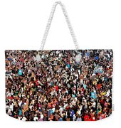 Sea Of People Weekender Tote Bag by Glenn McCarthy Art and Photography