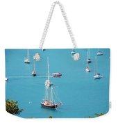 Sea Of Sailboats Weekender Tote Bag