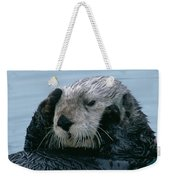 Sea Otter Grooming Weekender Tote Bag