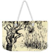 Sea Path Weekender Tote Bag