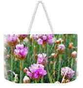 Sea Pinks Weekender Tote Bag
