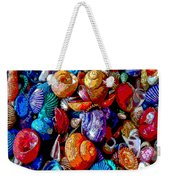 Sea Shell Abstract Weekender Tote Bag