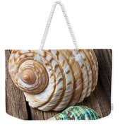 Sea Shells With Urchin  Weekender Tote Bag