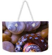 Sea Snail Shells Weekender Tote Bag