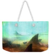 Sea Spirits - Manta Ray Art By Sharon Cummings Weekender Tote Bag by Sharon Cummings
