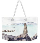 Sea Squirrel Weekender Tote Bag