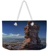 Sea Stack At North Cape On Prince Edward Island Weekender Tote Bag
