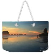 Sea Stack Photographer Weekender Tote Bag by Adam Jewell