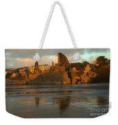 Sea Stacks And The City Weekender Tote Bag