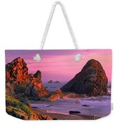 Sea Stacks Clearing Storm Harris State Beach Oregon Weekender Tote Bag