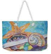 Sea Star-abalone-snail Shell Weekender Tote Bag