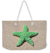 Sea Star - Green Weekender Tote Bag by Al Powell Photography USA
