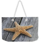 Sea Star On Deck Weekender Tote Bag