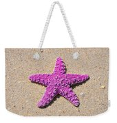 Sea Star - Pink Weekender Tote Bag