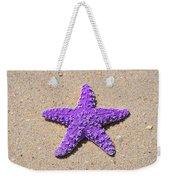 Sea Star - Purple Weekender Tote Bag by Al Powell Photography USA