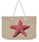 Sea Star - Red Weekender Tote Bag