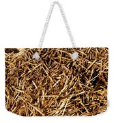 Sea Straw Weekender Tote Bag