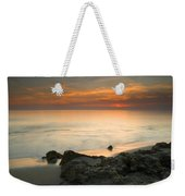 Sea Sunset Weekender Tote Bag