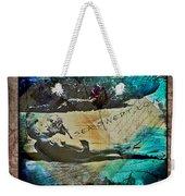 Sea Swept Love Weekender Tote Bag